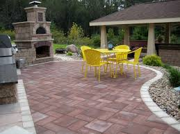 outdoor living company. can you see yourself in this outdoor kitchen/patio? hardscape by the bruce company. terraceoutdoor livingpatio living company