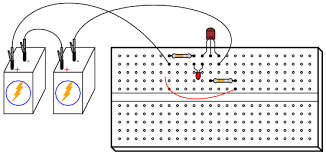 transistor as a switch discrete semiconductor circuits illustration