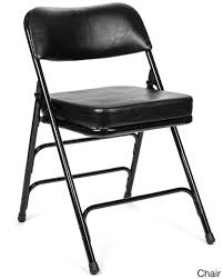 metal padded folding chairs. 20 80884 1468439435 Jpg C 2 Black Padded Folding Chairs 5pc Xl Series Card Table And Metal