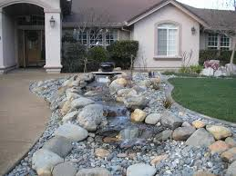 Landscape Design:How To Landscape With Rocks And Stones Beautiful  Landscaping with Rocks Design ideas