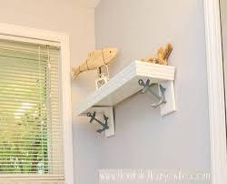 decorative diy shelf brackets with