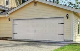 long panel garage door photo