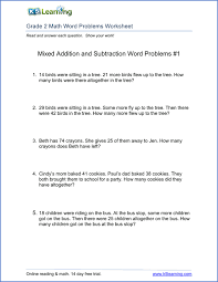 2nd grade math word problem worksheets - free and printable | K5 ...Addition Word Problems for 2nd Grade Grade 2 word problems worksheet
