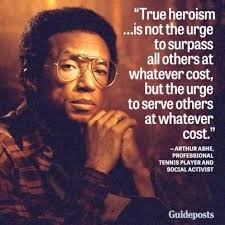 Inspiring Quotes Love 40 Pinterest Quotes Arthur Ashe And Tennis Fascinating Arthur Ashe Quotes