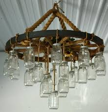 Country Wagon Wheel Chandelier 1 (2) ...