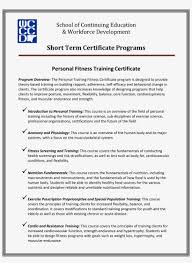 Designing Personal Training Programs Personal Fitness Training Certificate Main Image Download
