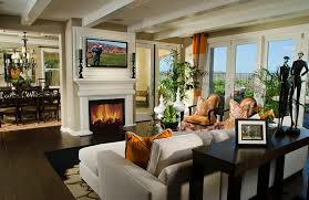 Creativity Modern Living Room With Fireplace And Tv View In Gallery Gorgeous Beautiful Design