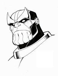 Disegni Da Colorare Disegni Da Colorare Thanos Stampabile