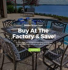 patio furniture pinellas county incredible wicker cast aluminium fabrics pvc pipe charleston with 18
