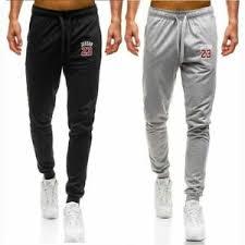 Jordan Fashions Size Chart Details About Casual Sweatpants Bodybuilding Fitness Track Pants Mens Fashions Jordan 23