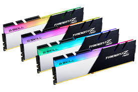 Show Technical Chart Of Trident Ltd G Skill Announces Trident Z Neo Ddr4 Memory Series For Amd