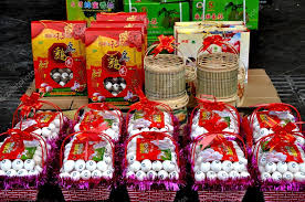 Small Picture Pengzhou China Chinese New Year Gift Eggs Stock Editorial
