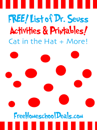 Doctor Seuss Printables Worksheets for all | Download and Share ...