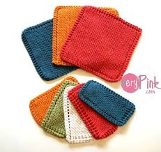 Free Knitting Patterns For Dishcloths Adorable Traditional Dishcloth Pattern Free Update V E R Y P I N K