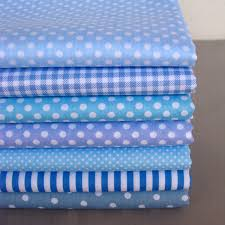Cheap Fabric, Buy Directly from China Suppliers: 40cm*50cm 9 pcs ... & Online Shop DIY Craft Base Blue Series Polka Dot/Stripe/Check Cotton Fabric  for Patchwork,Sewing,Quilt,Tilda Doll Cloth Adamdwight.com