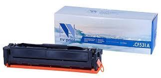 Купить <b>Картридж NV Print CF531A</b> Cyan для HP, совместимый по ...