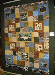 71 best Hunting Panel quilts images on Pinterest | Beach quilt ... & I have a brother in law who's an ichthyologist and I KNOW he'd love ·  Camping QuiltsWildlife QuiltsFish ... Adamdwight.com