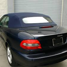 Volvo C70 Convertible Top for 1999-2006 in Blue Stayfast with ...