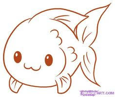 Fish Drawing Easy Easy To Draw Fish How To Draw A Simple Fish Step