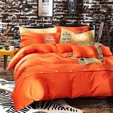 orange duvet cover king