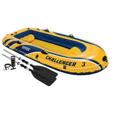 Стоит ли покупать Надувная <b>лодка Intex Challenger-3</b> (68370 ...
