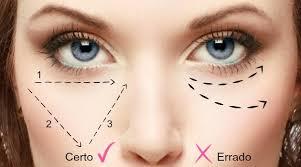 Resultado de imagem para como usar corretivo facial de forma correta