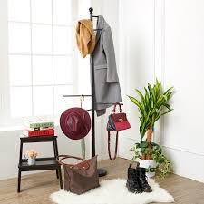 standing coat rack ezoware stylish modern bedroom bathroom entryway coat with hat rack cloth hanger