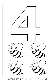 Coloring Pages For Toddlers Numbers L L L