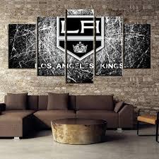 <b>Hot Sell 5 Piece</b> Canvas Art NHL Hockey Los Angeles Kings ...
