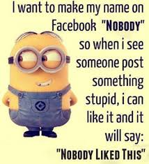 Funny Facebook Quotes Impressive 48 Minions Facebook Quotes Funny Minions Memes