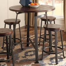 signature design by ashley challiman counter height pub table pub tables sets at hayneedle