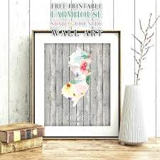 state wall art print of your favorite place or places in the world simply on state wall art