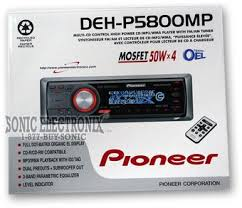 pioneer deh p5800mp (dehp5800mp) cd mp3 wma receiver with remote Pioneer Deh 16 Wiring-Diagram product name pioneer deh p5800mp