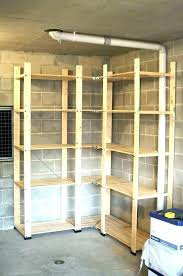 build wooden storage shelves wood storage