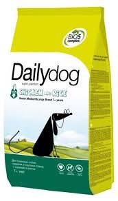 Купить <b>Корм</b> для собак <b>Dailydog Senior</b> Medium Large Breed ...