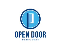 logo design open door dentistry