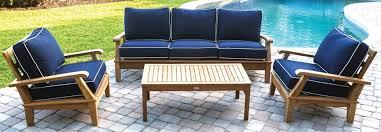 teak outdoor patio furniture kingsley