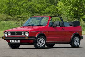 Volkswagen Golf Mk1 Cabriolet - Classic Car Review | Honest John