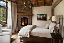 Brilliant Rustic Elegant Bedroom Designs Natural Wood Dit Loft And Design