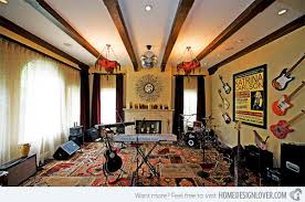 A great space to collaborate with other writers and musicians! 15 Design  Ideas for Home Music Rooms and Studios
