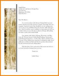 Interior Designer Cover Letter Sample Graphic Design Letters