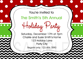 holiday party invites party invitations templates christmas party invitation templates word