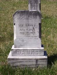Ida Ray Banks (1871-1919) - Find A Grave Memorial