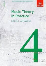 Music Theory in Practice Model Answers, Grade 4 : ABRSM : 9781848491175