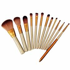 12 pcs set professional makeup brushes set cosmetic eyeshadow foundation concealer brushes face brush make up tools accessories in makeup brushes tools