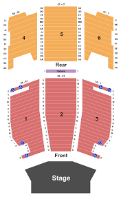 Umstattd Performing Arts Hall Seating Chart Canton