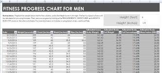 Fitness Chart Mwb Online Co