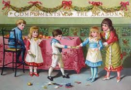 The History Of Christmas Greeting Cards From The Victorian Britain