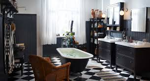 Black And White Bathroom Vintage Black And White Bathroom Pictures Bathrooms Cabinets