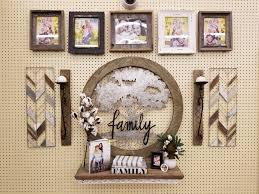 farmhouse family tree gallery wall